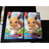 Pokemon Lets Go Eevee Para Switch Con Pokebola Nuevo Sellado