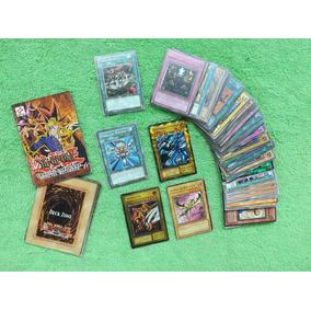 Lote De 81 Cartas Cards Grandes Yugioh + Tabuleiro E Manual