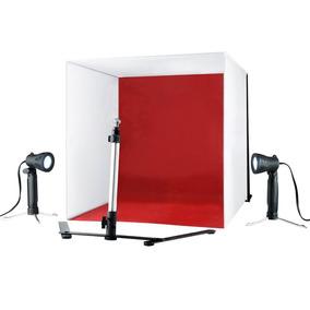 Mini Estúdio Fotográfico Portátil Completo Tenda Fotográfica
