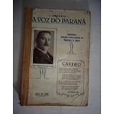 Anuário A Voz Do Paraná 1939 Município De Castro*