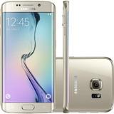 Smartphone Samsung Galaxy S6 Edge 32gb 16mp Dourado(vitrine)