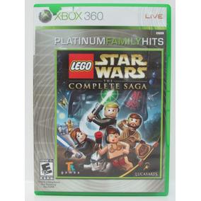 Lego Star Wars Complete Saga Game Xbox 360 Completo Original