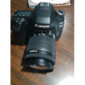 Canon 80d Body Un Año De Uso