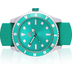 Relojes Save The World Unisex Nuevos.