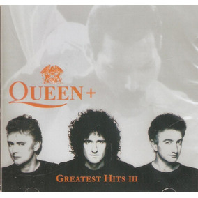 Cd Queen+ - Greatest Hits 3 - Novo Lacrado***