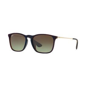 5c9a643fafafe Oculos Ray Ban Chris Marrom - Óculos no Mercado Livre Brasil