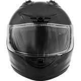 Casco Fuel Sh-ff0015 Certificado Seguridad Dot Mediano Negro