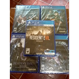 Resident Evil Ps4 Paquete
