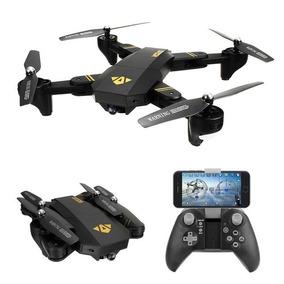 Drone Visuo Xs809hw Dobrável Fpv Wi-fi Com Câmera De 2mp