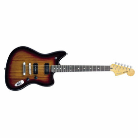 Fender Jaguar Modern Player Chocolate Burst - Oddity