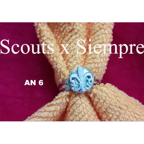 Anillos Flor De Lis Scouts X Siempre