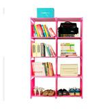 Librero Organizador Armado Fácil Resistente + Envío Gratis