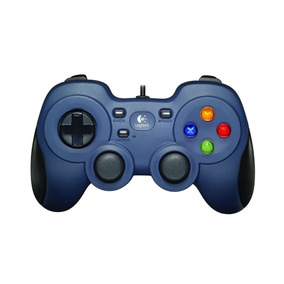 Control Logitech F310 Gamer Pc Usb Gamepad Steam Azul