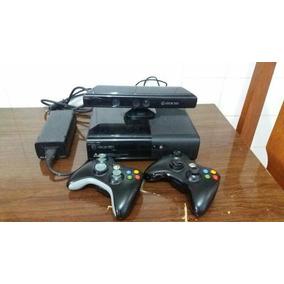 Xbox 360 Completo E Desbloqueado Pra Hd