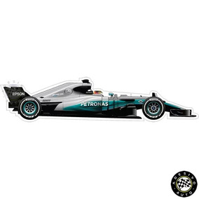Adesivo Mercedes F1 W08 Lewis Hamilton Formula 1 Team Carros