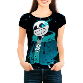 Camiseta Babylook Feminina Undertale - Sans - Mn01