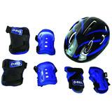 Kit De Proteção Infantil Bel Sports + Capacete