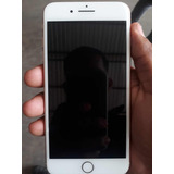 iPhone 8 Plus Rose 64gb Anatel Completo Fundo Trincado