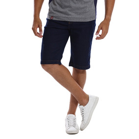 Bermuda Jeans Masculina Slim Com Lycra Bamborra Premium