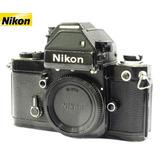 Câmera Nikon F2 Photomic S Black Reflex 35mm - Só O Corpo