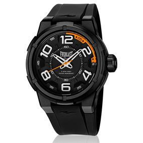 Relógio Everlast Masculino Torque E688 Caixa Abs E Pulseira
