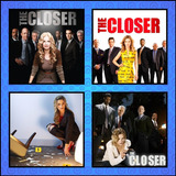 Série The Closer - Todas As Temporadas - Dublado + Encarte.