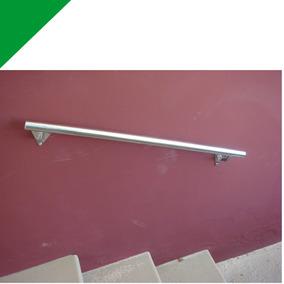 Corrimão Inox Parede Tubo 1.1/4 (32 Mm) - 80 Cm