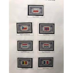 Selos Americano 1943-44 Overrun Countries Series
