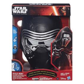 Brincando Com Mascara Elétrica Starwars Episódio Vii Hasbro