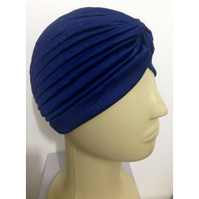 Turbante Indiano Gorro Touca Boina Várias Cores Turbantinho 2839be35af0
