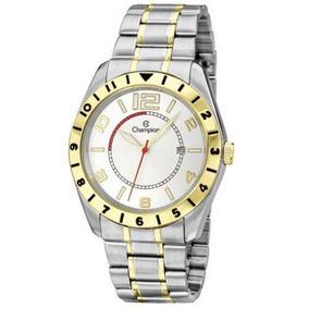 Relógio Champion Masculino Dourado/ Prata - Ca30187