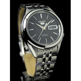 Reloj Seiko Snkl23 Acero Negro Automatico Mejor Seiko 5!!!