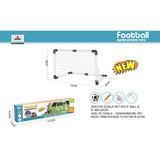 Set De Futbol Arco 120*40*80 + Pelota + Inflador Xty1805