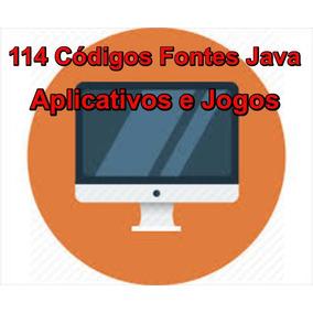Códigos Fontes Java-kit Com Mais De 114 Aplicativos E Jogos