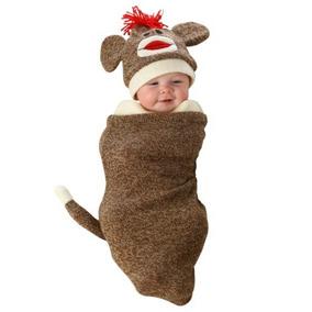 Disfraz De Chango Mono Chimpance Sock Monkey Para Bebes 1 068cf963688