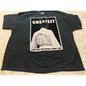 Camiseta Playera Muhamad Ali The Best! 4xl (tallas Extra)