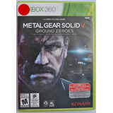 Metal Gear Solid Ground Zeroes Xbox 360 Infinity Games