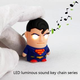 Chaveiro Superman - Super Homem Com Luz E Som