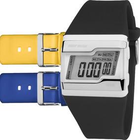 Relógio Mormaii Feminino Troca Pulseira 3 Cores Fz/t8y