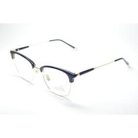 99a9bd0911311 Armação Óculos Masculino Redondo Estiloso Moda Phantom Style