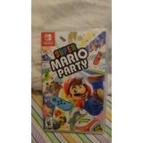 Juego Nintendo Swicth Mario Party Nuevo