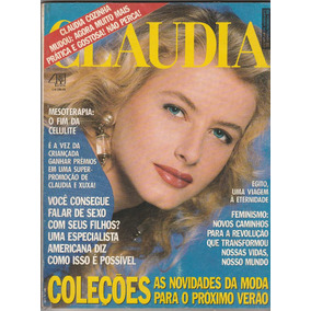 Revista Claudia Nº 349 - Out De 1990 - Ed Abril - An