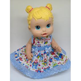 Kit Para Baby Alive 10 Vestidos 10 Calcinhas