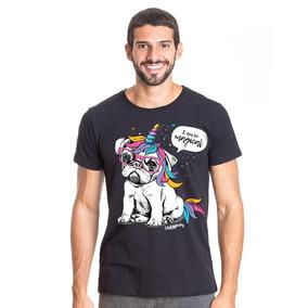 a2c98da5b Bulldog Francês Cinza - Camisetas e Blusas no Mercado Livre Brasil