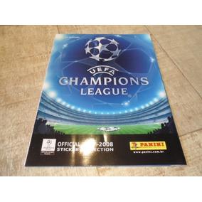 +m+ Álbum Uefa Champions League 2007-2008 - Panini Vazio
