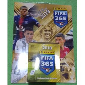 Album Fifa 365 2019 Figurinhas Blue Panini + 50 Envelopes