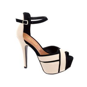 Sandália Sapatos Feminino Salto Alto Fino Casamento Festa