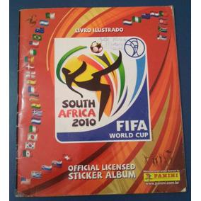 Álbum Fifa World Cup África Do Sul 2010 Completo