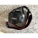 Camara Canon Rebel T3i Con Funda
