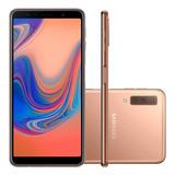 Samsung Galaxy A7 2018 A750g/ds 128gb Cobre Lacrado